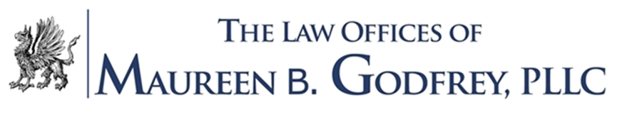 The Law Offices of Maureen B. Godfrey with Griffon Logo
